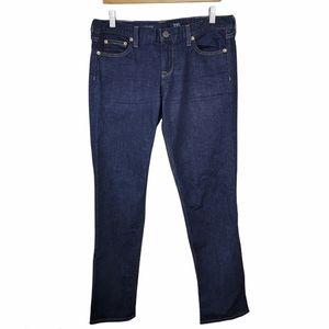 J. Crew | Matchstick Dark Wash Straight Leg Jeans